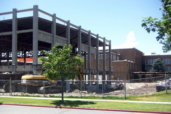Center for New Media Construction on South City Campus
