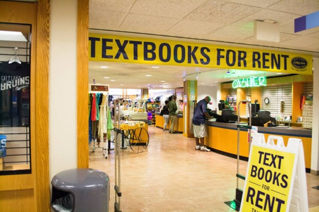 Textbooks for rent at SLCC