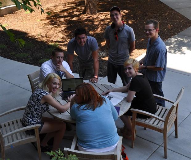 SLCC students at South City Campus