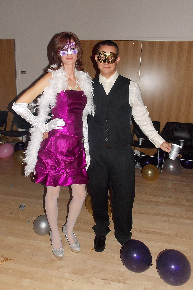 Masquerade Ball Couples Costumes