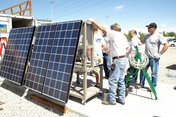SLCC solar photovoltaic installation class