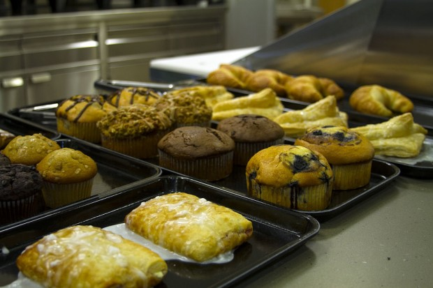 Baked goods at South City Campus food court