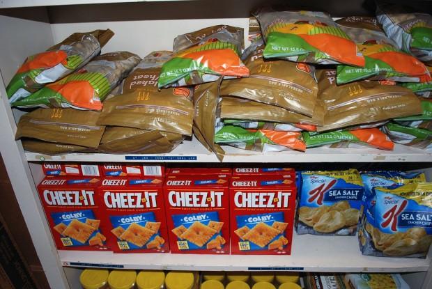Bruin Food Pantry snacks