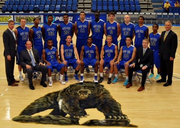 SLCC 2012-13 men's basketball team photo