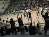 SLCC volleyball fans