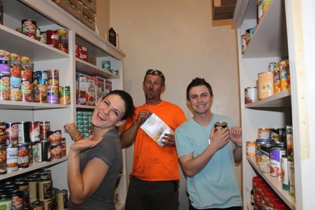 Left to right: Rose Gomez, Justin Hughes and Austin Myslinski