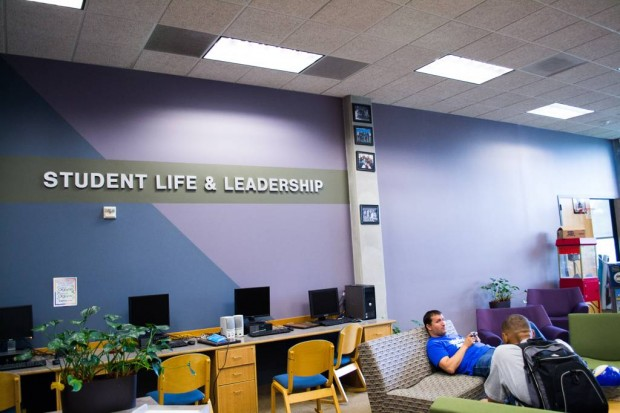 The student life and leadership office