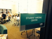 Student Writing Center located in room AAB 129 at Redwood