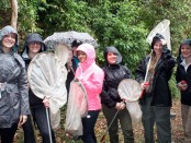 SLCC students in Costa Rica