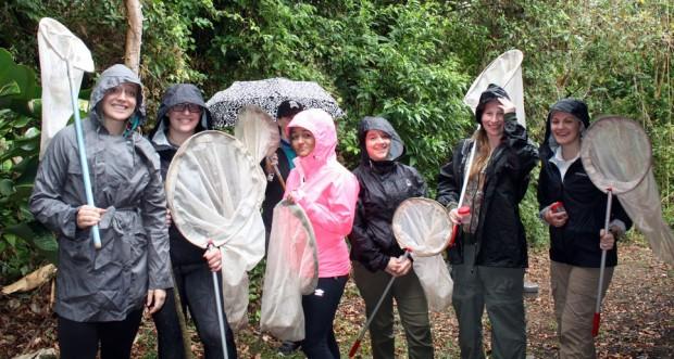 SLCC students in Costa Rica
