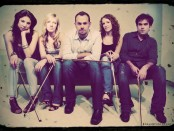 Sybarite 5 band members - (L to R)Sarah Whitney, Laura Metcalf, Louis Levitt, Angela Pickett, and Sami Merdinian.