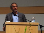 Tariq Ramadan speaks for 'Pathways of Peace'