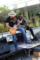 Tim Montana plays guitar