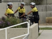 UHP officers on bike patrol
