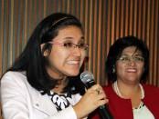 Elizabeth Gamarra, left, and Luz Gamarra