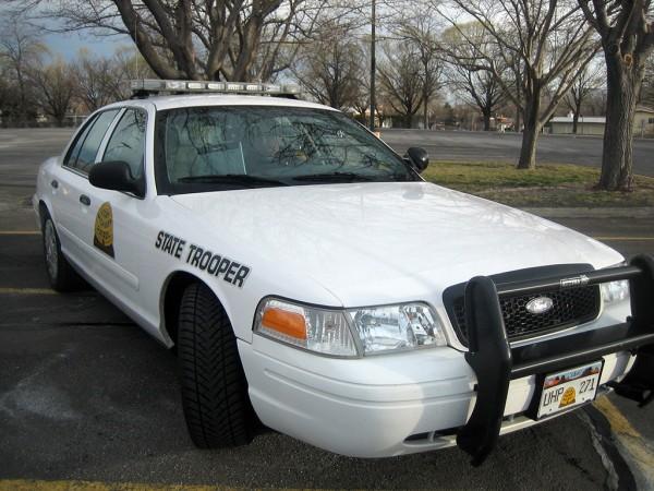 Utah Highway Patrol vehicle