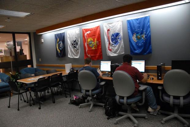 Veterans Center study area
