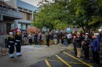 Attendees celebrate Veterans Day