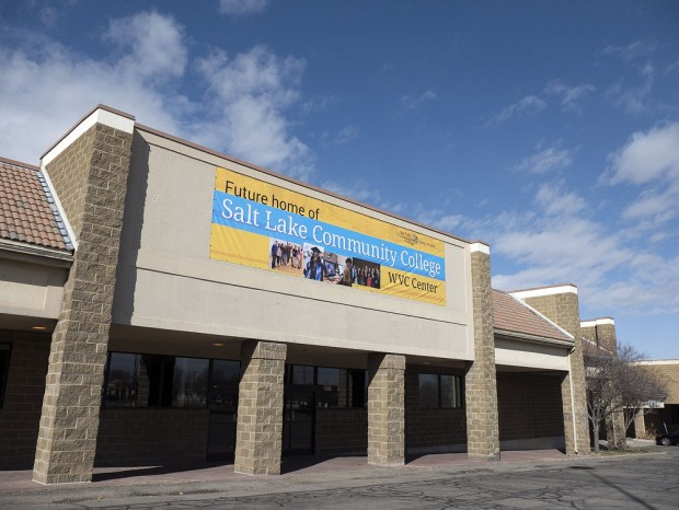 Front of West Valley Center