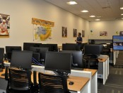 Computer lab at the West Valley Center