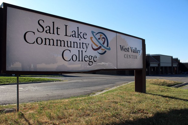 SLCC West Valley Center sign off 35th South