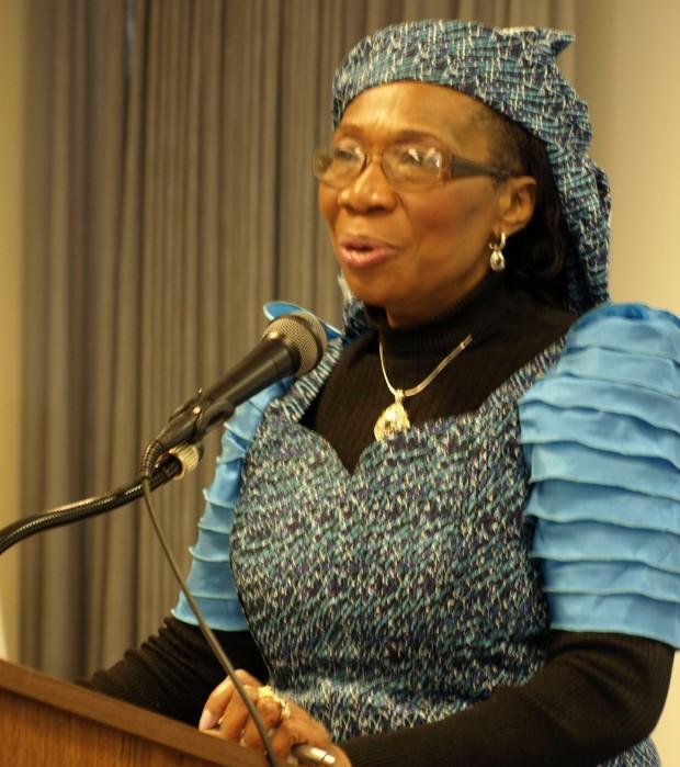 Photo of Carole Ugochukwu, a WOW delegate from Nigeria.