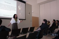 Ruby Chacon presenting