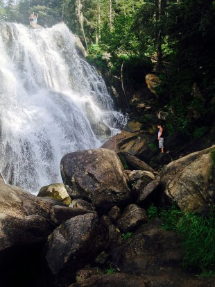 Bell Canyon waterfall
