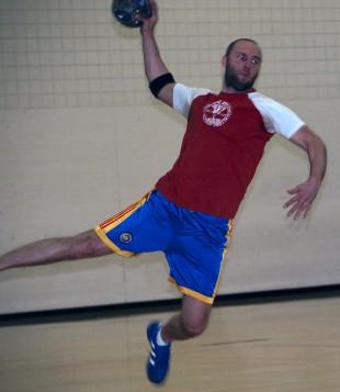 Handball player Vlad Gramma