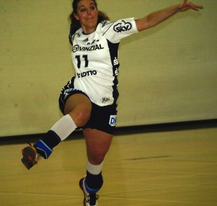 Handball player Katrin Baur