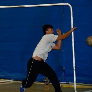 Loc Nguyen, handball goalie