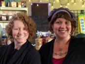 Carlene Carlson, left, and Erin Arrigo