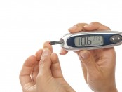 Testing glucose level for diabetes