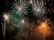 Fireworks exploding (Shutterstock)