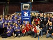 Regional finalists: Team 2403–Team Plasma, Team 3245–The Ravens, and Team 3230–Protoypex
