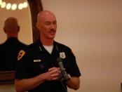 Chief of the SLCPD, Chris Burbank.