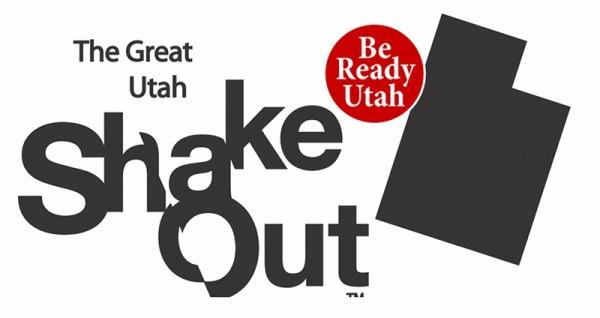 Great Utah ShakeOut logo