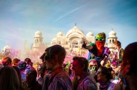 Holi Color Festival in Spanish Fork