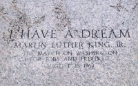 "Site of ""I Have a Dream"" speech"