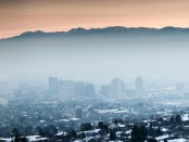 Salt Lake City and it's infamous inversion.