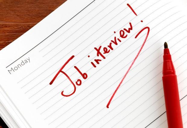 Job interview on Monday