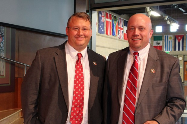 Max Roth, left, and Bill Crimm