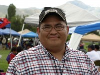 Mitchell Eriacho of the local non-profit Native American Events, is the chairman in charge of orginizing and hosting the Sugarhouse Pow Wow