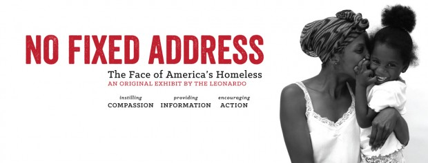 """No Fixed Address"" exhibit banner"