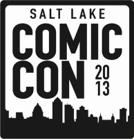 The logo for the Salt Lake Comic Con in 2013