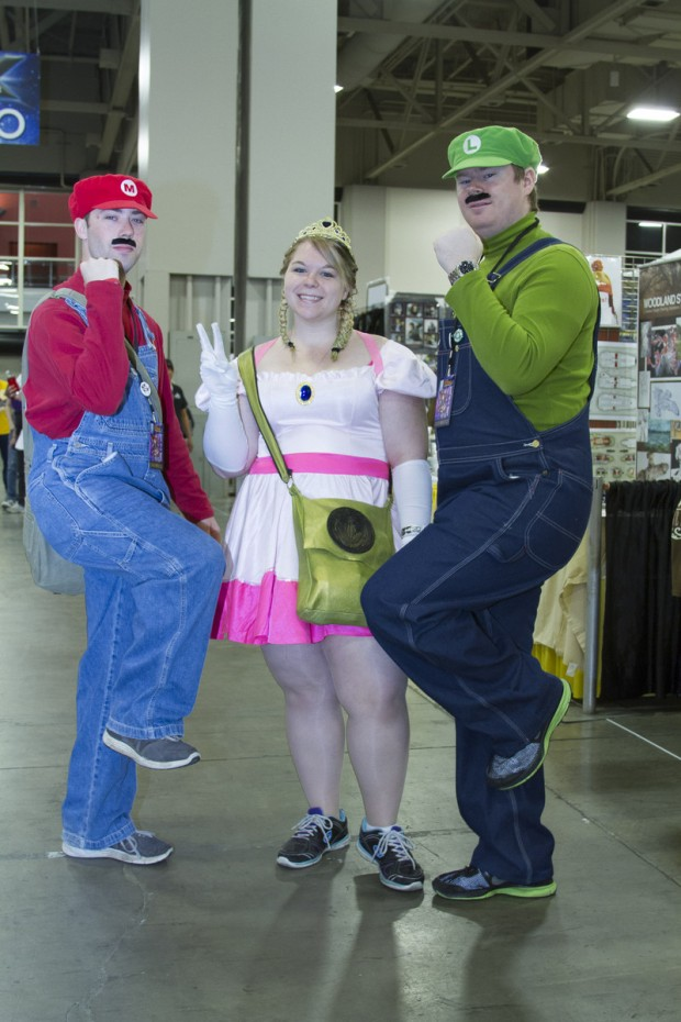 Left to right: Will Knowlden, Ashley Right and Tom Nance