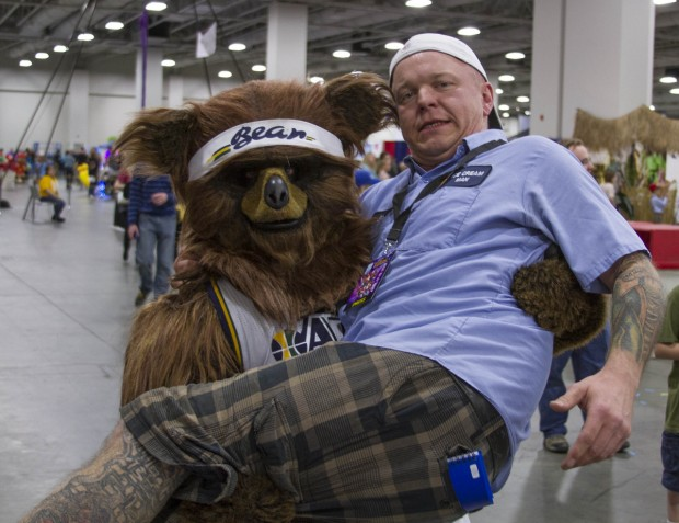 Jazz Bear and Jimmie Breedlove