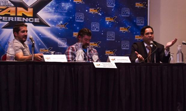 Left to right: Joel Mendias, Jarrod Phillips and Sean Reyes