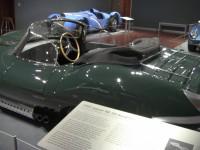 Side view of Steve McQueen's Jaguar