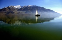 Sailing on Great Salt Lake